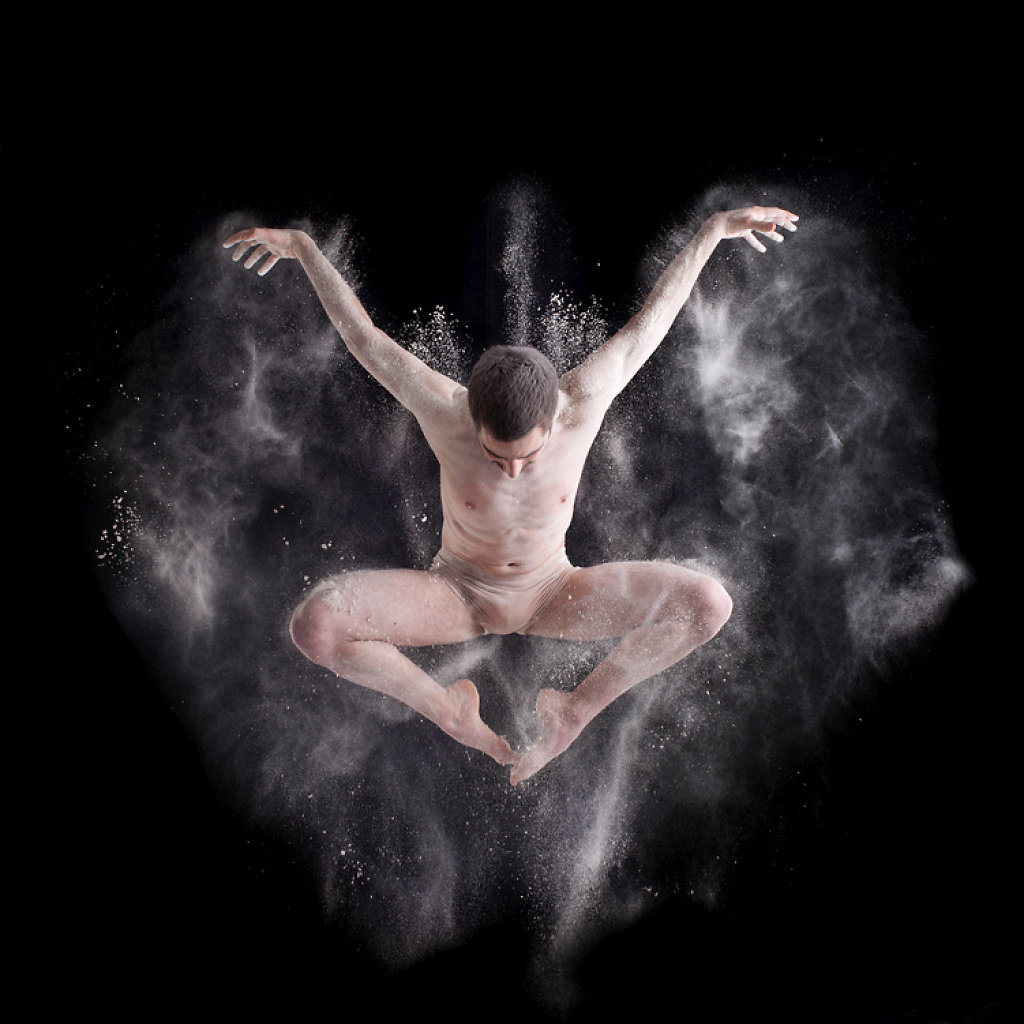 Danseur en mouvement